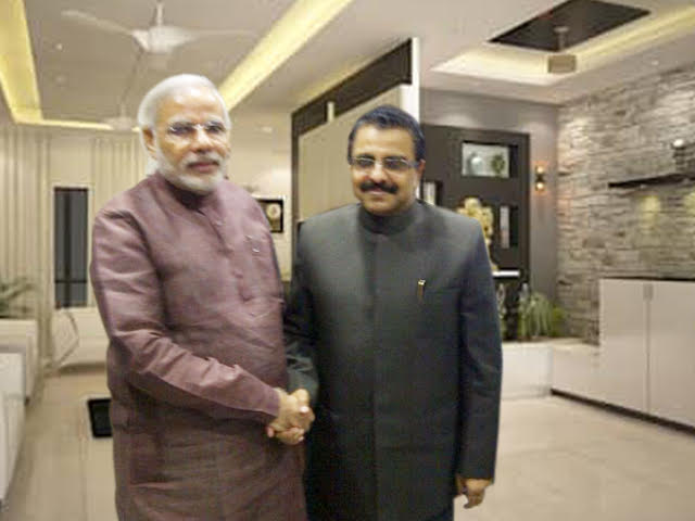 With PM of India Narendra Modi